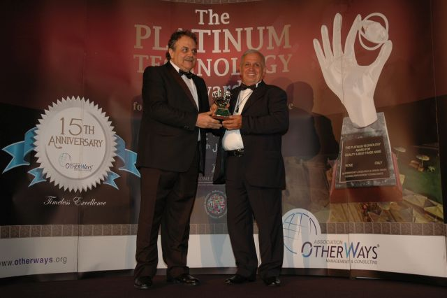 Platinum Tehnologija Priznanje Za Kvalitet I Brend 2015