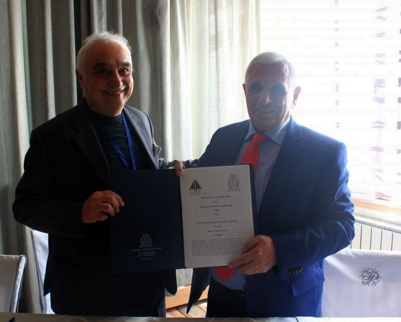 Dr. Sci Gilberto Marzano I Akademik, Rektor, Prof.dr. Ibrahim Jusufranić