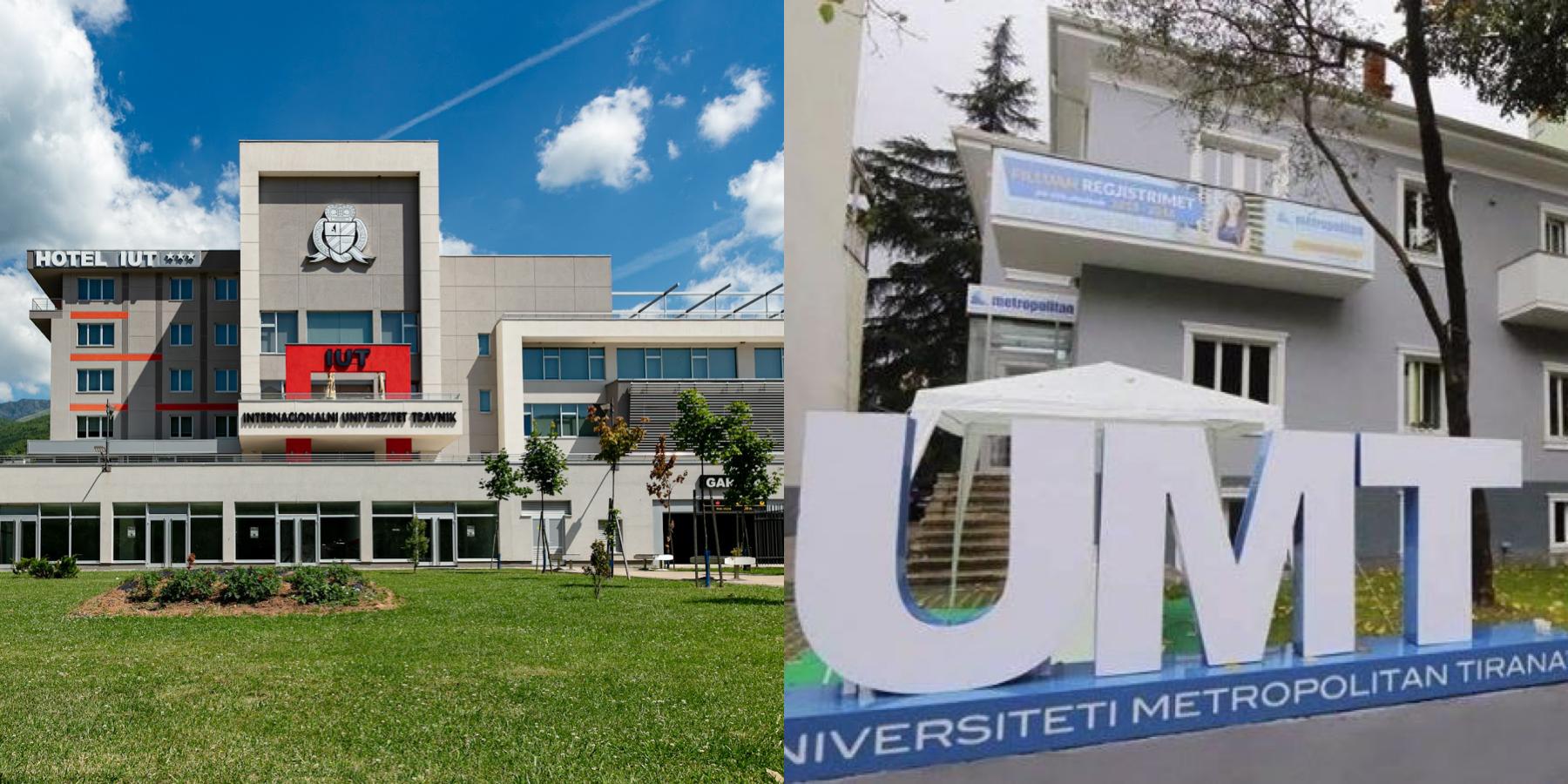 Potpisan Sporazum O Saradnji Između Internacionalnog Univerziteta Travnik I Metropolitan Tirana Univerziteta, Albanija