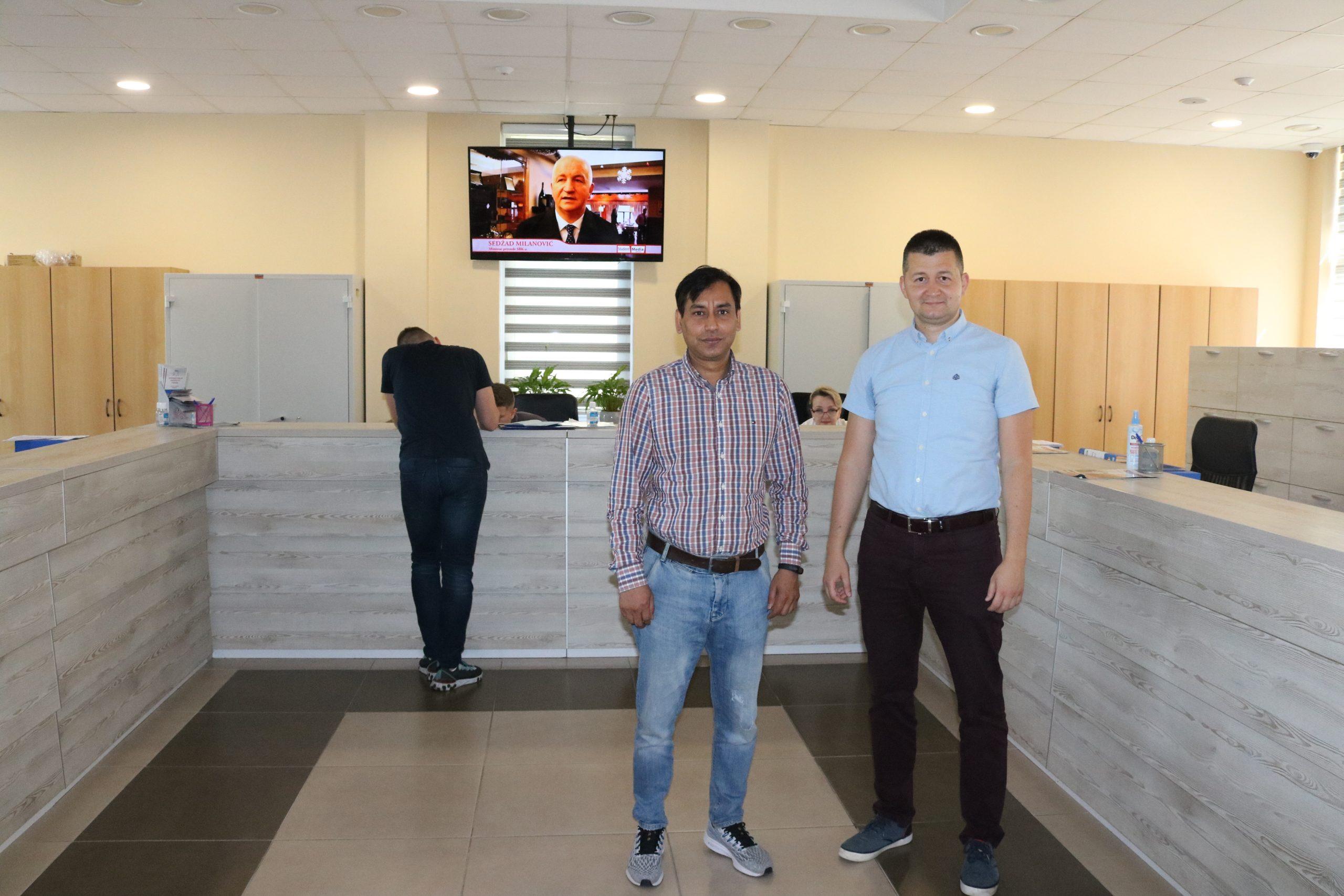 Profesor Sa Kazimieras Simonavičius Univerziteta Iz Litvanije Posjetio Internacionalni Univerzitet Travnik
