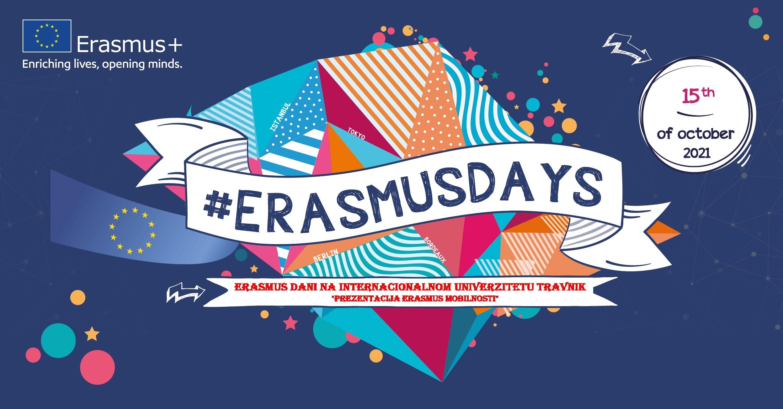 Prezentacija Erasmus + Mobilnosti U Okviru Erasmus Dana Na Internacionalnom Univerzitetu Travnik