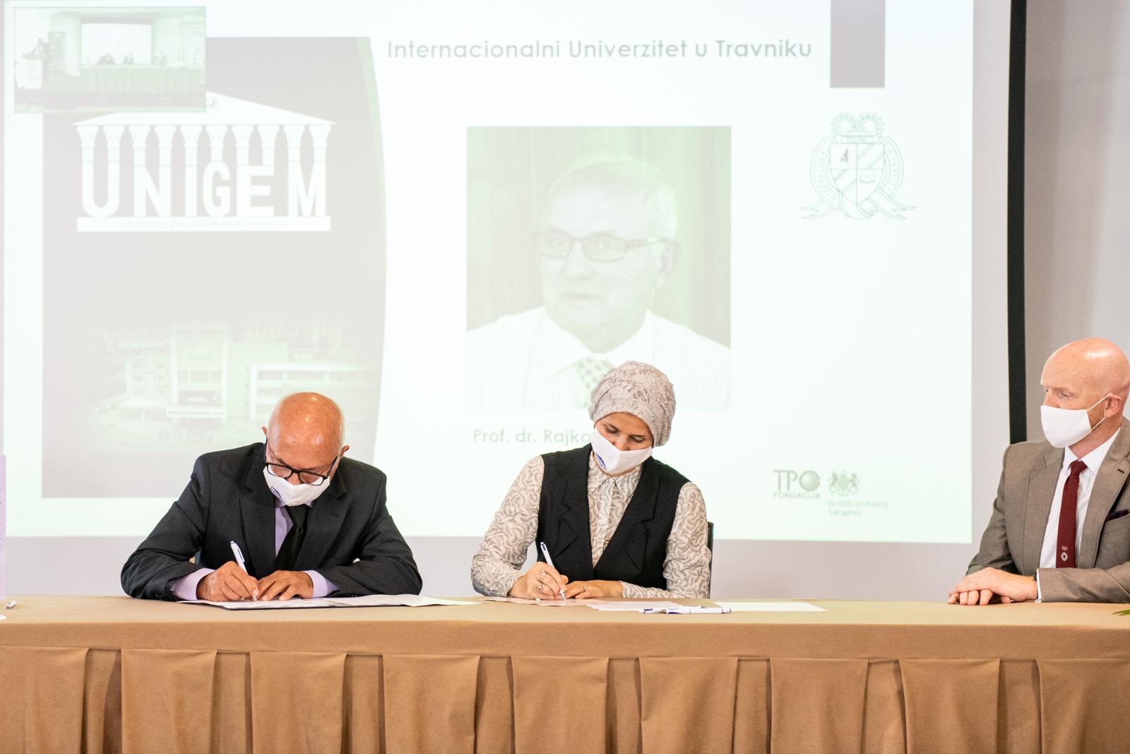 Potpisan Memorandum O Saradnju S Transkulturnom Psihosocijalnom Obrazovnom Fondacijom (TPO)